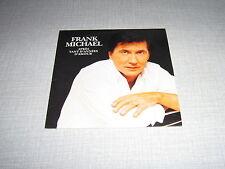 FRANK MICHAEL CD SINGLE APRES TANT D'ANNEES D'AMOUR