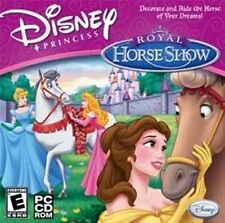 DISNEY Princess Royal Horse Show  Decorate & Ride the Horse of Your Dreams  NEW