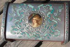 Boite Coffret de Dame Style Louis XVI à Monogramme GM