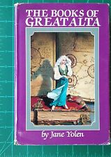 The Books of Great Alta Jane Yolen Signed Hardcover w/ DJ 1988 & 1989