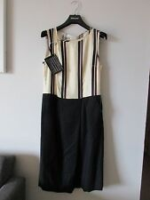 NWT DRIES VAN NOTEN DOANY WOOL BLEND DRESS SIZE 40 MADE IN ITALY