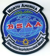 RESIDENT EVIL Bioterrorism Security Assessment Alliance BSAA N-America Insignia
