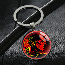 Hot The Flash Avengers Marvel Keyring Superhero Keychains Silver Key Chain Ring