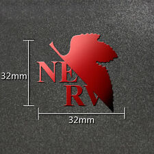 1PC Hot Anime Evangelion EVA 3D Cheap Phone Metal Sticker