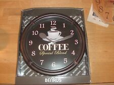 Benrus Coffee Wall Clock