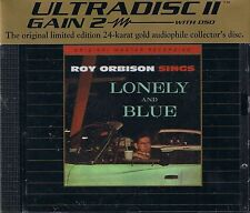 Orbison, Roy Lonely and Blue MFSL GOLD CD NEU OVP Sealed mit J-Card UDCD 758