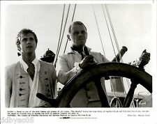 1984 VINTAGE PHOTO by MURRAY CLOSE ACTOR MEL GIBSON ANTHONY HOPKINS BOUNTY film