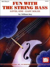Fun with the String Bass Learn to Play EASY DOUBLE BASS Big Note Music Book