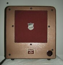 """JENSEN ALNICO 12"""" 15W 16 Ohm SPEAKER with NICE Bell&Howell  ENCLOSURE"""