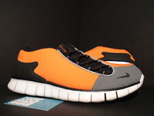 2011 Nike Air FOOTSCAPE FREE SAFETY ORANGE BLACK COOL GREY WHITE 487785-800 11