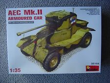 MiniArt 1/35 AEC Mk.II Armoured Car (WWII)