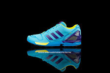 Rare 2015 Deadstock Brand New Boxed Adidas ZX Flux ZX8000 Aqua Blue UK 9