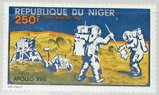 NIGER 1972 355 C203 Apollo 17 US Moon Mission Mondlandung Space Weltraum MNH