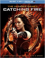 Hunger Games: Catching Fire (2014, REGION A Blu-ray New) BLU-RAY/WS