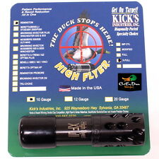 KICKS HIGH FLYER PORTED BLACK CHOKE TUBE EXTRA FULL 10GA REMINGTON SHOT GUN