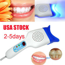 USA New Dental LED Cool Light System Lamp Bleaching teeth whitening unit 30W CE