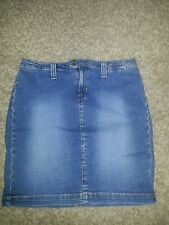Motherhood Maternity Jean Skirt, size S, above knee,EUC