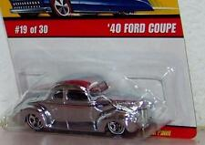 2005 Hot Wheels Classics Series 2 '40 Ford Coupe CHROME #18 of 30 VARIATION