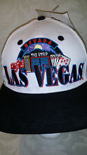 Las Vegas Nevada Hat Cap Captain Travel The Strip Dice Poker Cards Snapback NWT