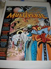 POSTER / MANIFESTO HELIX DC COMICS MICHAEL MOORCOCK'S MULTIVERSE PROMO 1997