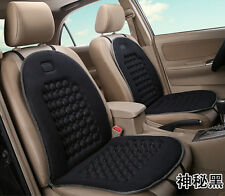 2x Car Seat Cushion Therapy Massage Padded Bubble Foam Chair Seat Pad Cover BK
