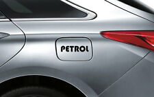 Black Petrol P1 Decal Sticker Fuel Lid Honda City Amaze Jazz Brio Accord Civic