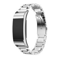 Acero Inoxidable Lujoso Pulsera de reloj para Fitbit Charge 2