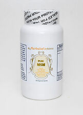 Pure MSM 300 Capsules  Reduce pain and inflammation!