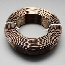 2mm Aluminium Craft Florist Wire Jewellery Making Dark Brown Camel 3m lengths