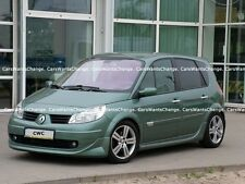 RENAULT SCENIC MK2 / GRAND FULL BODY KIT: FR SPOILER + RE + SS + ROOF SPOILER