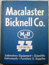 Macalaster Bicknell Scientific Catalog ASBESTOS in Schools Teachers Exposed '77