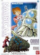 Bandai Nausicaa Valley of Wind Nausicaa with OHM 1/20 Model kit Studio Ghibli