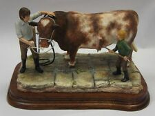 """Border Fine Arts Figure """"Getting Ready for the Show"""" Made in Scotland. Limited!"""