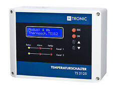 TS 2125 circulating pump control Central heating,Gas heating,Oil heating,Solar
