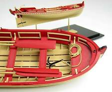 MODEL SHIPWAYS 21 FT ENGLISH PINNACE Plank-on-frame wood  KIT boat longboat