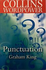 Collins Wordpower - Punctuation, Graham King, Good Condition Book