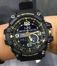 Casio G-SHOCK gg-1000gb-1adr mudmaster nero Twin Sensor Ana-Digitale Orologio in Scatola