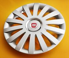 "FIAT ... SET OF 4 x 16"" ALLOY LOOK CAR WHEEL TRIMS/COVERS 16 INCH HUB CAPS"