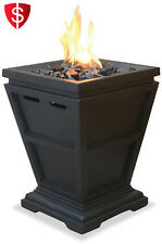 Table Top Fireplace Heater Burner Indoor Outdoor LP Gas Propane Fire Pit Flame
