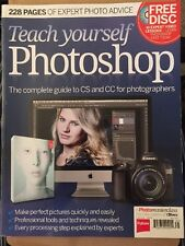 Teach Yourself Photoshop Complete Guide Free Disc Techniques 2014 FREE SHIPPING!