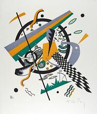 Vasily Kandinsky Reproduction: Small Worlds lV (Kleine Welten) - Fine Art Print