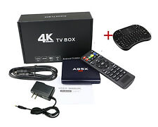 A95X R1 Android 6.0 Smart TV Box 4K HD Home Streaming Media Player +keyboard