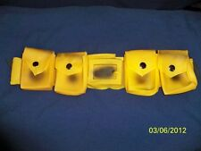 BATMAN YELLOW UTILITY BELT BATARANG PROP COSTUME DRESS ACCESSORY RU2268