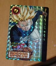 DRAGON BALL GT Z DBZ HONDAN PART 30 CARDDASS CARD PRISM CARTE 72 P JAPAN 1997 **