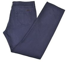 Burberry Brit Blue Cotton Selvedge Jean Style Denim Casual Pants 36 x 32