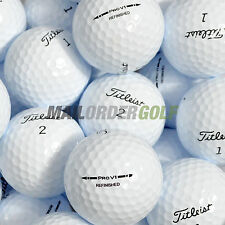 12 MINT REFINISHED TITLEIST PRO V1 - GOLF BALLS - PREMIUM QUALITY -FREE DELIVERY