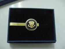 President TRUMP tie clip - Presidential seal tie clip