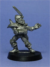 CITADEL - Blood Bowl - 2nd Edition - Dark Elves - Catcher (a) - Metal - 1980s