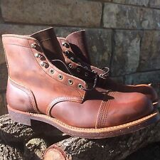 New W/Box Red Wing Heritage Iron Ranger Boot Size 12D Style #8115 Copper