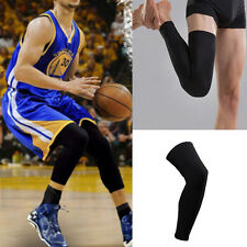 1pc Unisex Sport Cover Long Sleeves Leg Knee Protector Basketball Wear XL 53CM